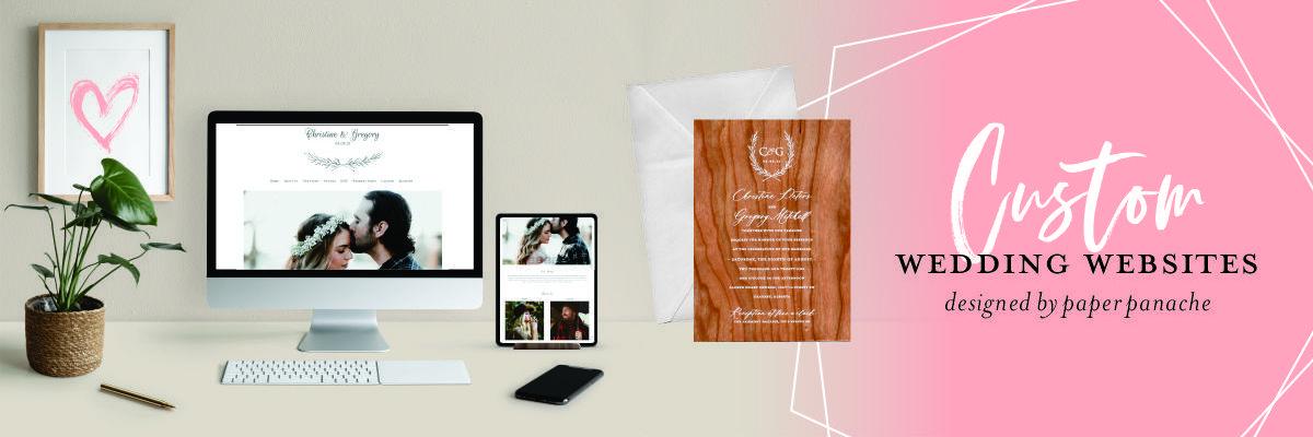 Panache Wedding Websites Image